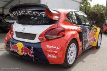 Peugeot 208 RX de Sébastien Loeb - Rallycross de Lohéac 2016