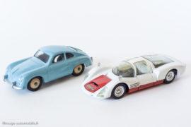 Porsche 906 Carrera 6 - Dinky Toys réf. 503 & Porsche 356 A - Dinky Toys GB réf. 182