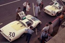 Porsche 906 - 4ème aux 24 Heures du Mans 1967 (capot long et normal)