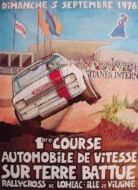 1er Rallycross de Lohéac en 1976