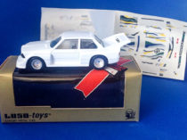 BMW 320i Lichtenstein 1977 - Luso Toys, boites et décalques (source eBay)