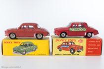 Renault Dauphine - Dinky Toys français 524 et anglais 268