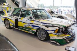 BMW 320i Lichtenstein 1977 - Au Mans Classic 2016
