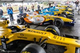 Exposition Renault F1 - Autobrocante de Lohéac