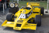 Renault F1 RS 01 - 1978
