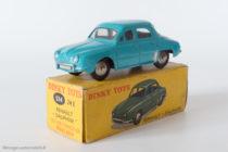 Renault Dauphine - Dinky Toys 524 - variante n°3 - avec vitres