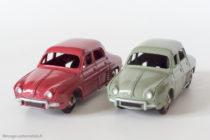 Renault Dauphine - Dinky Toys 24 E - variante n°1 - Plaque minéralogique noire