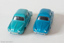 "Renault Dauphine - Dinky Toys 524 - variante n°3 - turquoise et bleu vif ""Bobigny"""
