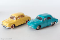 Renault Dauphine - Norev et Dinky Toys