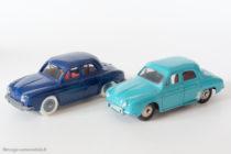 Renault Dauphine - JEP et Dinky Toys