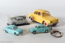 Renault Dauphine - Norev, Micro Norev, Porte clé Norev
