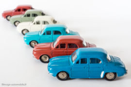 Renault Dauphine - Dinky Toys 24 E et 524
