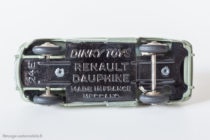 Renault Dauphine - Dinky Toys 24 E - Chassis toujours identique