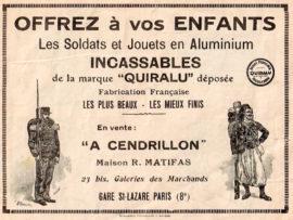 Publicité Quiralu vers 1932