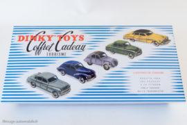 Coffret cadeau tourisme Dinky Toys de 1955 - Coffret Editions Atlas