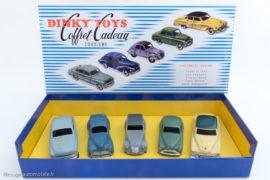 Coffret cadeau tourisme Dinky Toys de 1955 - Coffret Atlas et Dinky Toys originales