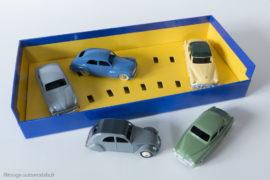 Coffret cadeau tourisme Dinky Toys de 1955 - Coffret et voitures Editions Atlas