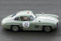 Mercedes-Benz 300 SL compétition (ici Le Mans Classic)