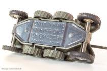 Dinky Toys ref. 827 - EBR Panhard FL 10 - anomalie plancher, code 1