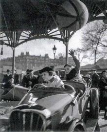 Voiture de manège - années 1950