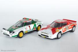 Lancia Stratos HF - 1ère du Rallye Monte Carlo 1977 & 1ère au Tour de France 1973 - Solido réf. 73 & 27