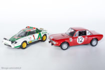 Lancia Stratos HF - 1ère du Rallye Monte Carlo 1977 - Solido réf. 73 & Lancia Fulvia - Altaya