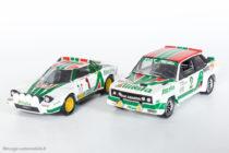 Lancia Stratos HF - Solido & Fiat 131 Abarth - Solido