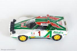 Lancia Stratos HF - 1ère du Rallye Monte Carlo 1977 - Solido réf. 73