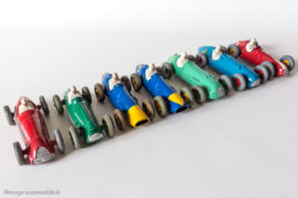 Dinky Toys anglais série 23 - sept Formule 1