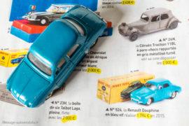 Collectionneur & Chineur - Dinky Toys, les 50 miniatures les plus chères - Dauphine bleu Bobigny