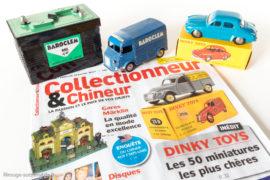 Collectionneur & Chineur - Dinky Toys, les 50 miniatures les plus chères - Citroën Baroclem et Dauphine bleu Bobigny