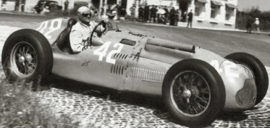 Talbot-Lago T26C / Louis Chiron - Grand Prix de France 1951