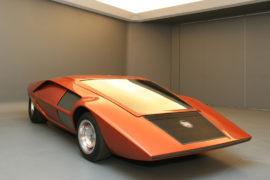 Lancia Stratos - Concept car Bertone salon de Turin 1971