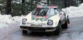 Lancia Stratos HF - 1ère du Rallye Monte Carlo 1977