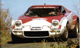 Lancia Stratos HF - Champion du Monde des rallyes 1974