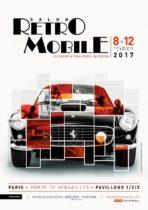 Rétromobile 2017 - Affiche