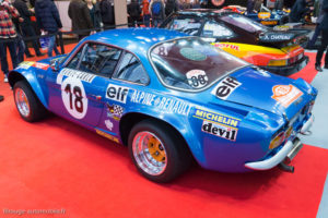 Rétromobile 2017 - Alpine Renault 1600 vainqueur Monte Carlo 1973