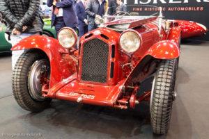 Rétromobile 2017 Alfa Romeo 8C spyder Zagato 1931