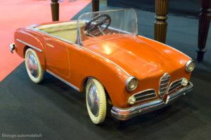 Rétromobile 2017 - Alfa Romeo à pédales