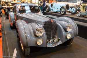 Rétromobile 2017 - Bugatti 57S Atlantic 1936