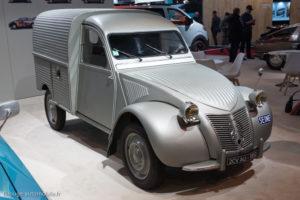 Rétromobile 2017 - Citroën 2CV