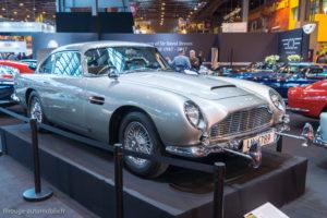 Rétromobile 2017 - Aston Martin DB5 de James Bond