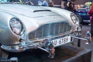Rétromobile 2017 - Aston Martin DB5 de James Bond