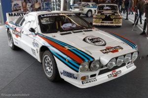 Rétromobile 2017 - les groupes B - Lancia 037