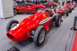 Rétromobile 2017 - Stand Ferrari - Ferrari 500 F2
