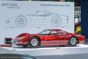 Rétromobile 2017 - Ferrari Dino 206P 1966 - Artcurial