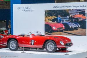 Rétromobile 2017 - Ferrari 166 Spyder corsa 1948 - Artcurial