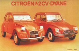 Citroën 2 CV et Dyane