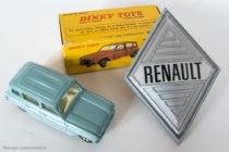 Dinky Toys 518 - Renault 4L - bleu gris