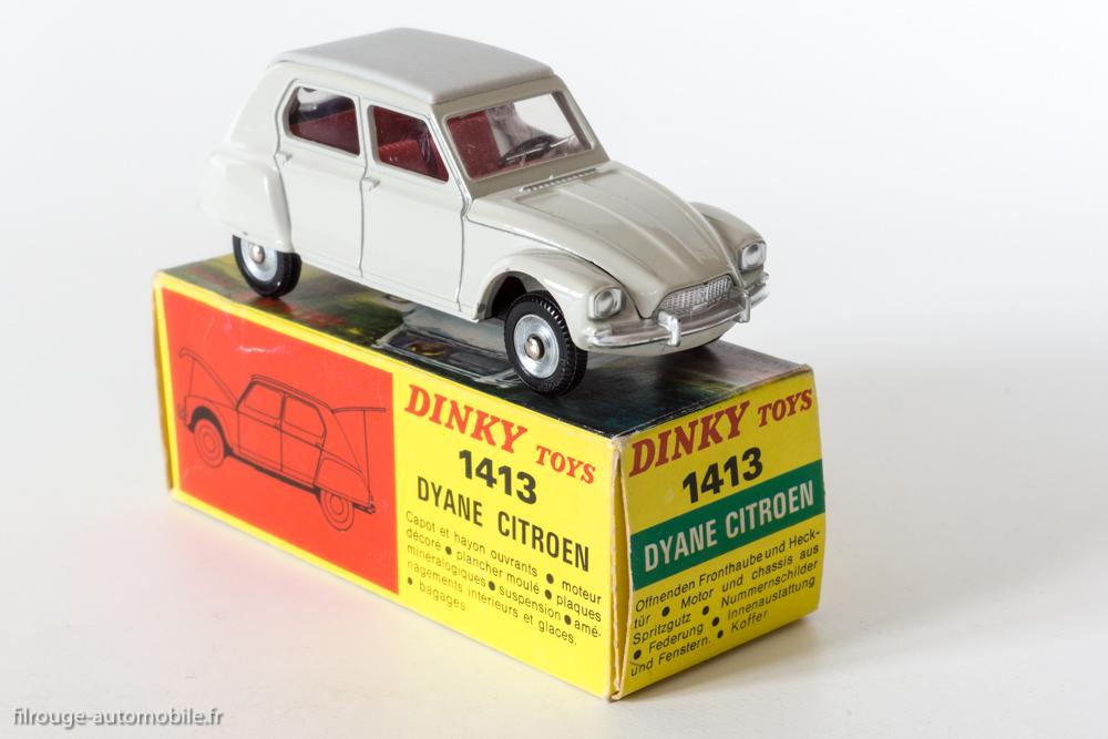 une voiture  une miniature   citro u00ebn dyane    dinky toys